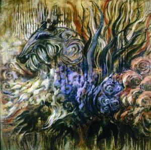 Ariel Parkinson painting